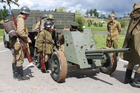 День артилериста