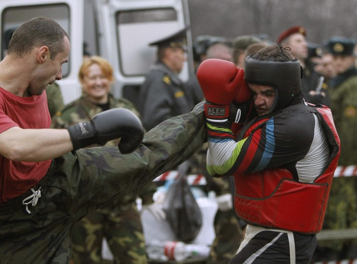 рукопашный бой краповый берет