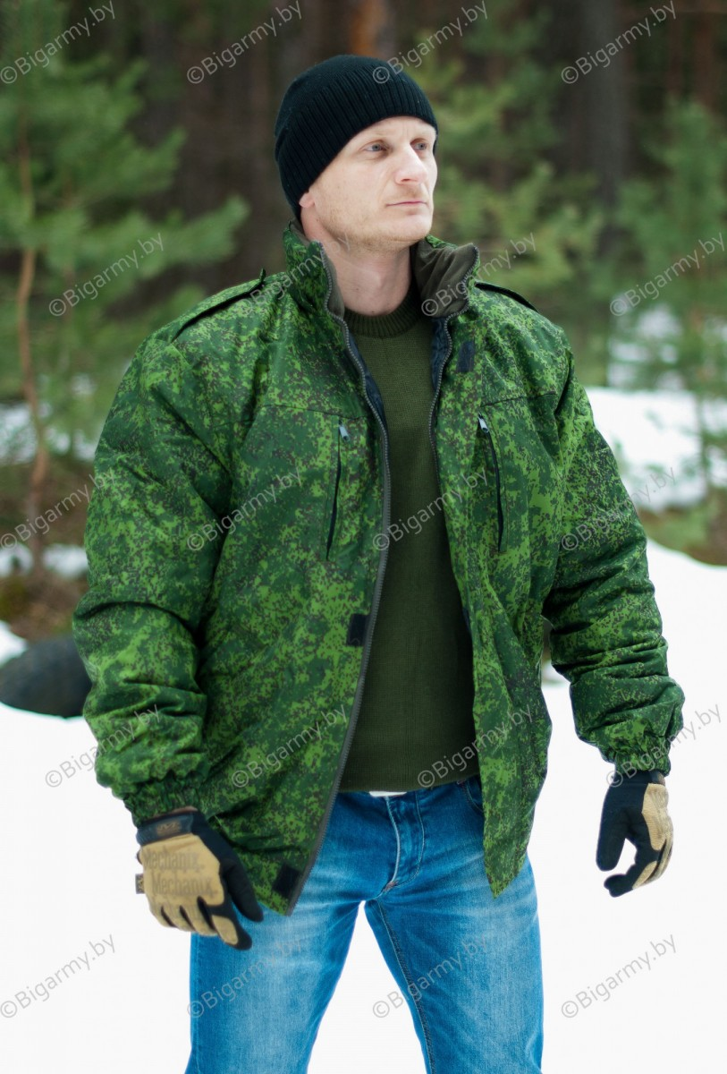 Куртка зимняя цифра