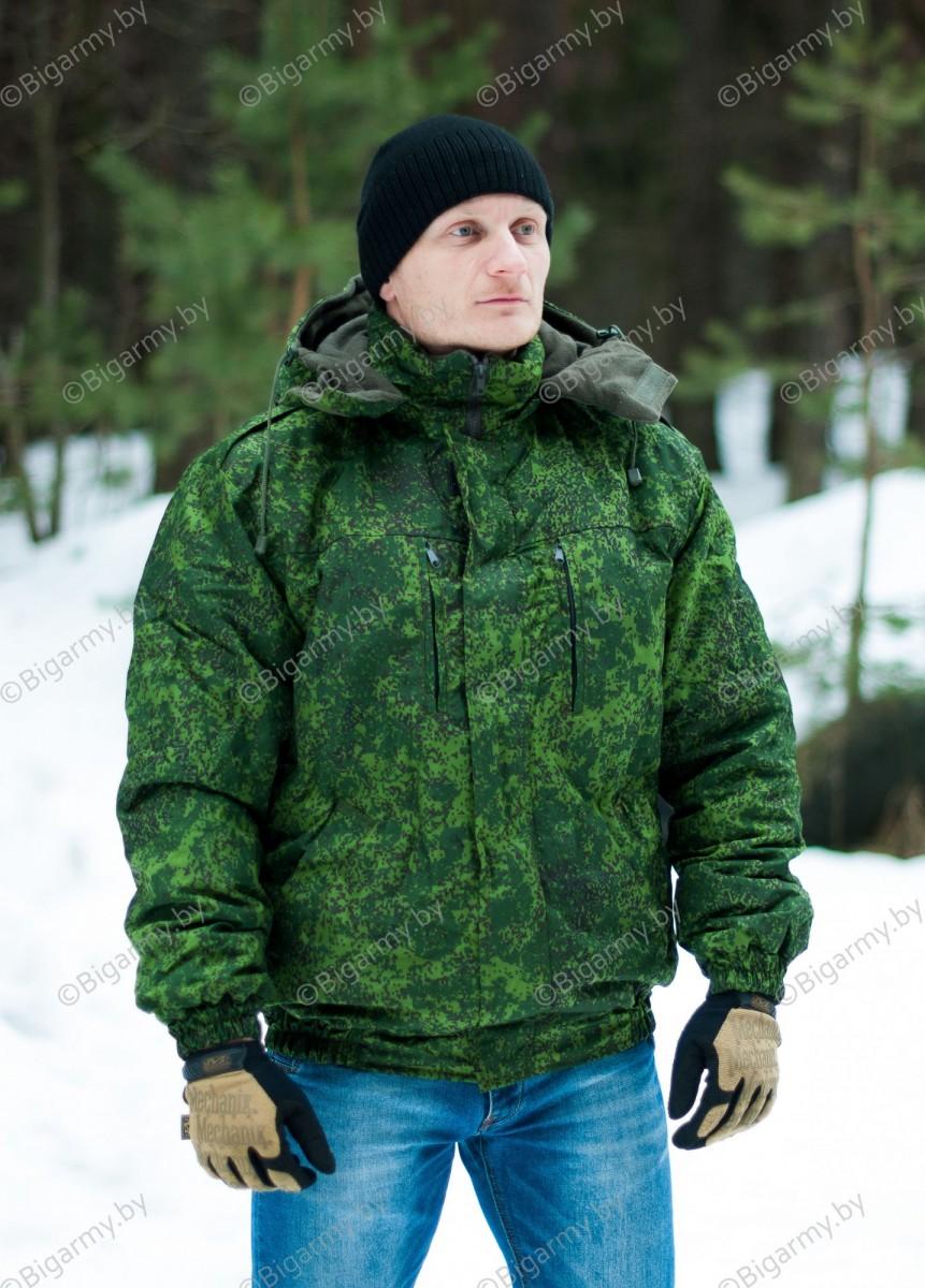 Куртка цифра (с креплением под погоны) зимняя