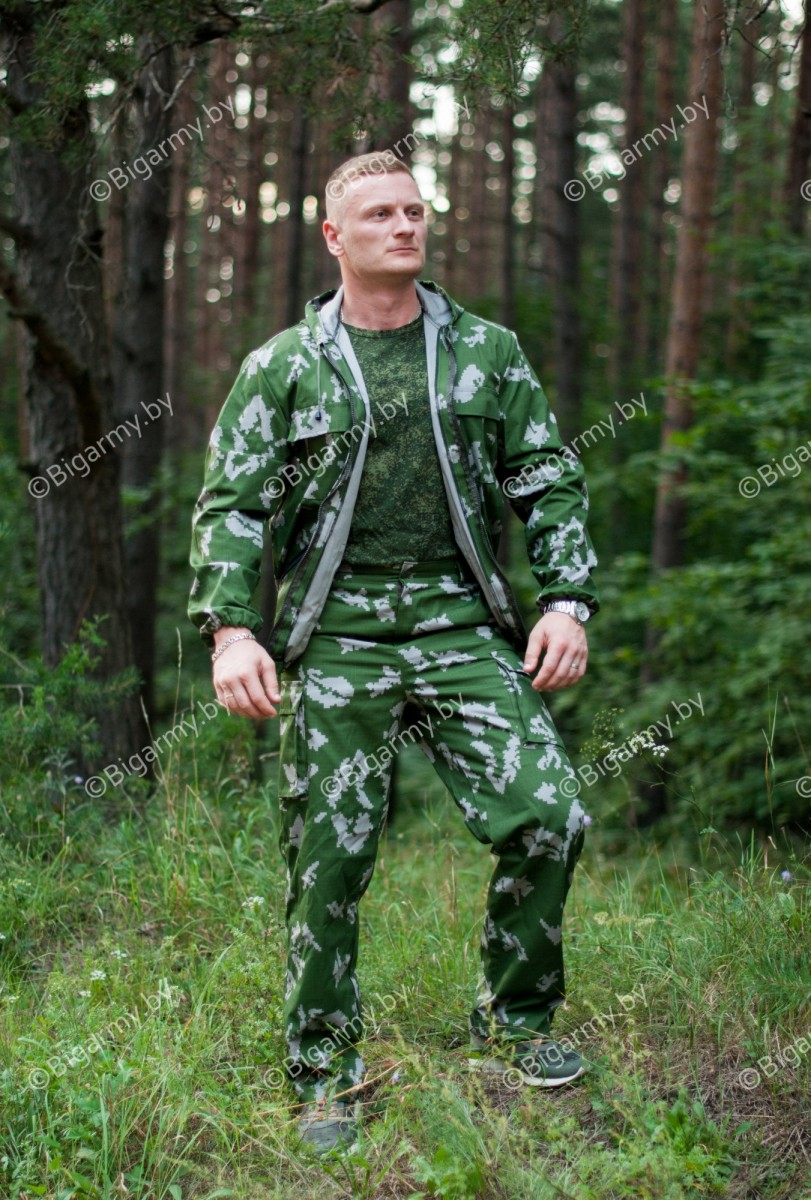 Костюм Егерь Березка зеленая