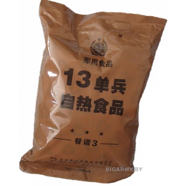 Сухой паек Китай меню №13 (часть 3)