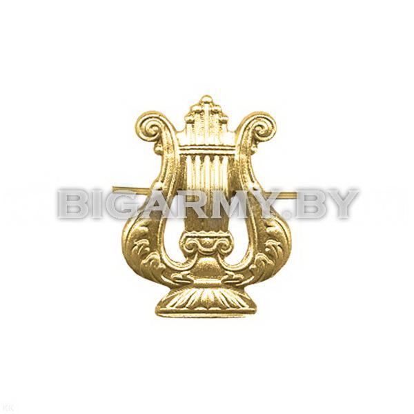 Эмблема петлица Военный оркестр металлическая