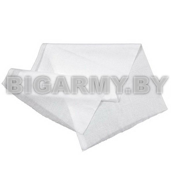 Ткань белая подшивочная в рулонах бязь отбеленная