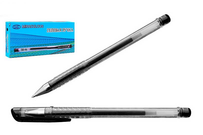 Ручка гелевая черная