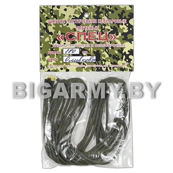 Шнурки для обуви Спецназ кевларовые 1,8 м (оливковые)