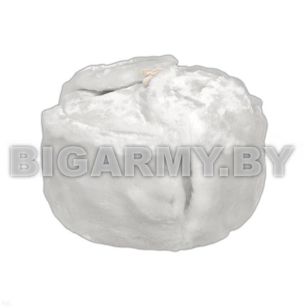 Шапка искусственный мех белая