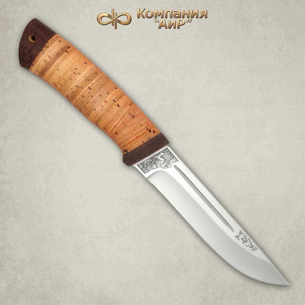 Нож Бекас (береста)