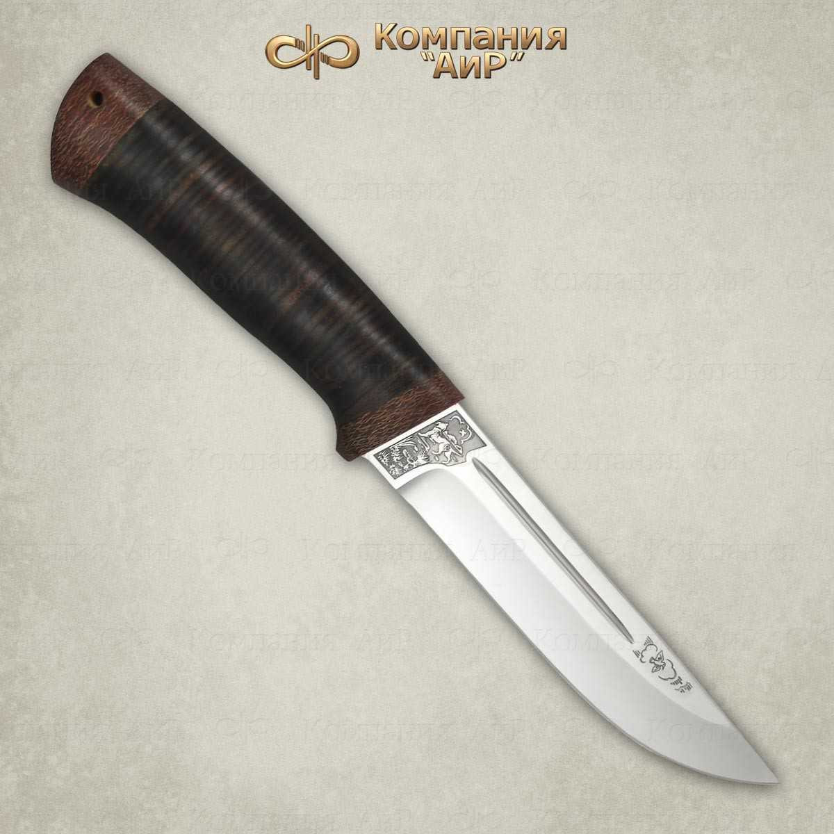 Нож Бекас (кожа)