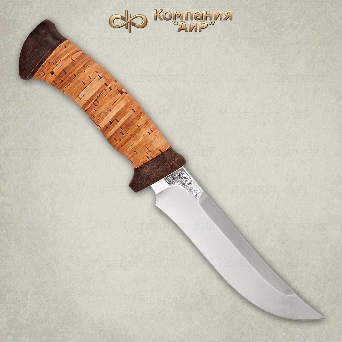 Нож Росомаха (береста)