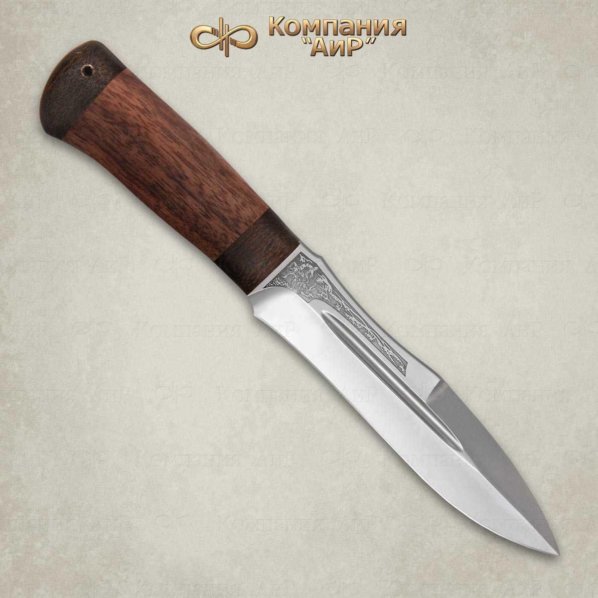Нож Скорпион (орех)