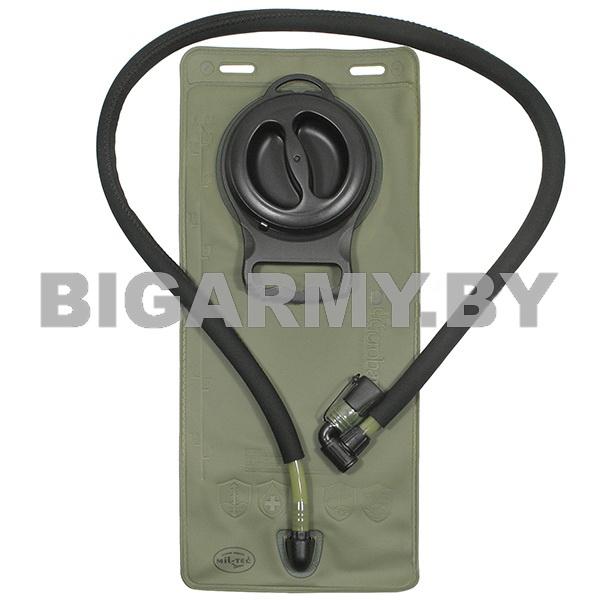 Питьевая система оливковая (для рюкзака) объем 2,5 л