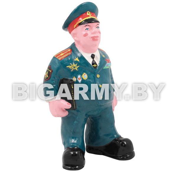 Фигурка гипсовая Офицер ВС в парадной форме