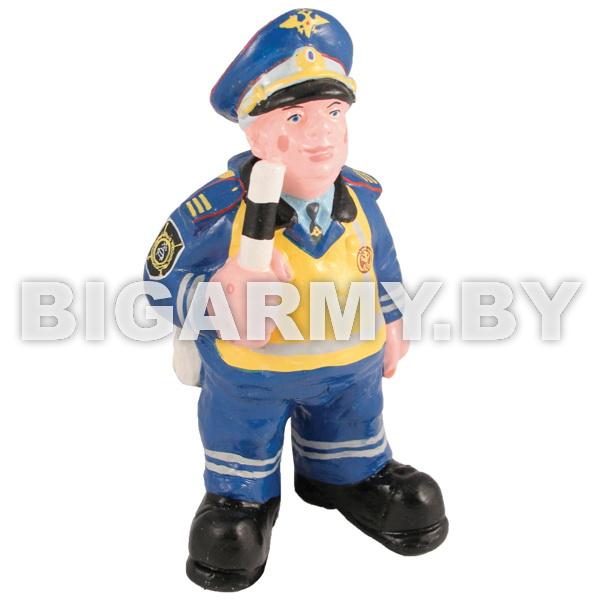 Фигурка гипсовая Инспектор ДПС в сигнальном жилете