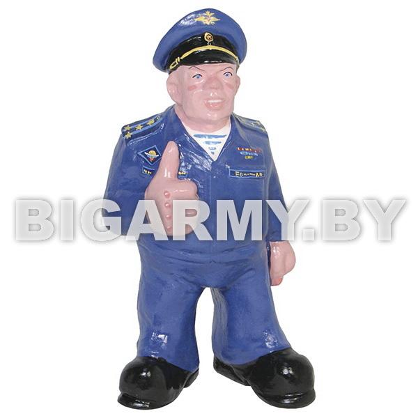 Фигурка гипсовая Старший офицер ВДВ (в офисной форме)