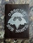 Обложка на военник Obcuri Sub Nost серебро
