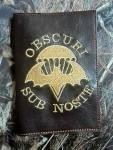 Обложка на военник Obcuri Sub Nost золото