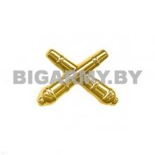 Эмблема петлица РВиА пластмассовая