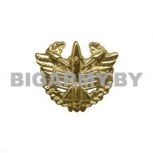 Эмблема войск ПВО пластмассовая с венком