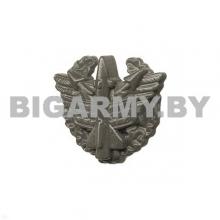 Эмблема войск ПВО пластмассовая защитная с венком
