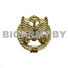 Эмблема Автомобильных войск пластмассовая с венком