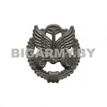 Эмблема Автомобильных войск пластмассовая защитная с венком
