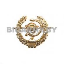 Эмблема петлица металлическая Медицинская служба ст/обр золотая левая