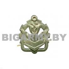 Эмблема петлица Инженерные войска нов/обр защитная