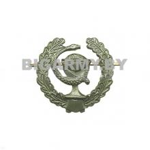 Эмблема металлическая Медицинская служба ст/обр защитная (правая)