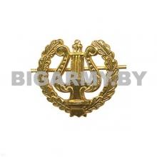 Эмблема петлица металлическая Военный оркестр ст/обр золото