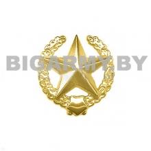 Эмблема петлица пластмассовая Общевойсковая ст/обр золотая