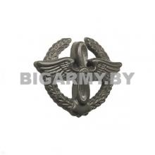 Эмблема петлица пластмассовая ВВС старого образца защитная