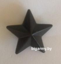 Звезда 13мм пласт. защитная гладкая