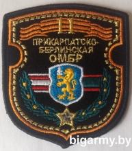 Шеврон 11 ОМРБр