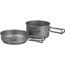 Набор титановой посуды 1 кастрюля, 1 сковородка