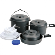 Набор посуды 2 каст., 1 сков., 1 чайн.(6-7 персон)