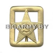 Пряжка Звезда СА генеральская с просечками