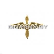 Эмблема петлица Авиация ВВС металлическая