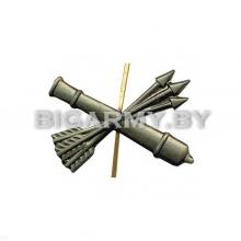 Эмблема петлица войска ПВО металлическая