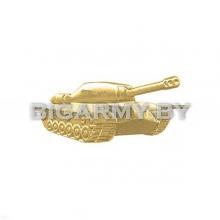 Эмблема петлица Танковые войска металлическая правая