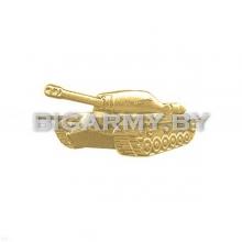 Эмблема петлица Танковые войска металлическая левая