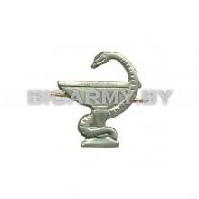 Эмблема петлица Медицинская служба металлическая левая