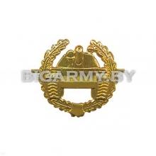 Эмблема петлица Танковые войска металлическая
