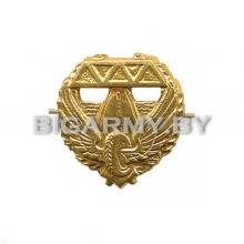 Эмблема петлица Дорожные войска металлическая