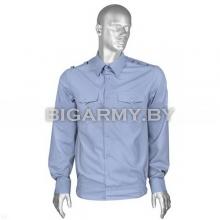 Рубашка ВВС форменная офицерская голубая