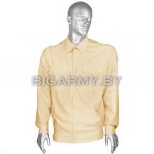Рубашка форменная офицерская кремовая