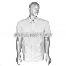 Рубашка форменная офицерская белая