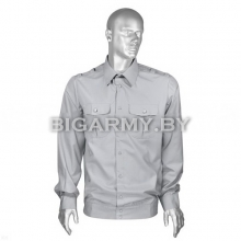 Рубашка СПИ форменная офицерская серая