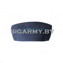 Пилотка ВВС синяя с голубым кантом