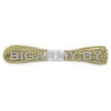Шнур люрекс 5 м золотой